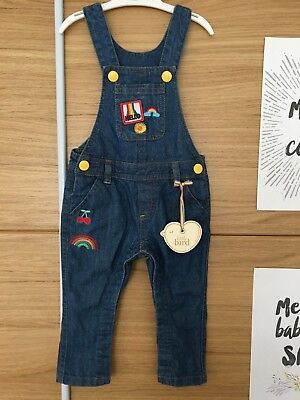 Little Bird Jools Oliver Dungarees 9-12 Months Girls Boys Mothercare