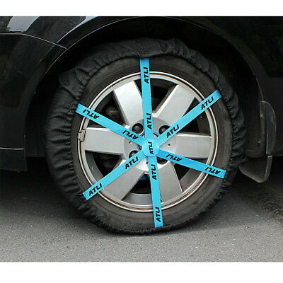 Auto Snow Sock Adjustable Car Tire Snow Chains KB73 Traction Car Wheel Covers