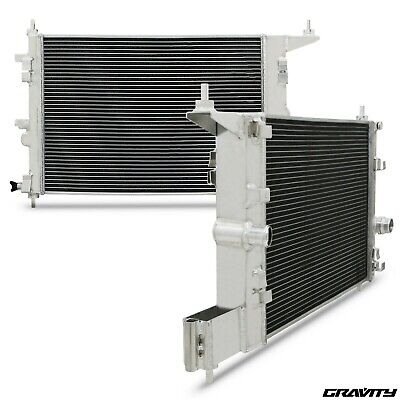 High Flow Alloy Radiator Rad For Vauxhall Opel Astra J Mk6 Gtc 1.4 Turbo 09-15