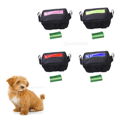 Dog Treat Training Bag Obedience Snack Pocket Dog Bait Pouch With Fastener Clips