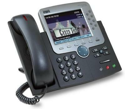 CISCO CP-7971G-GE 8 BUTTON (LINE) VoIP COLOR LCD GIGABIT IP PHONE
