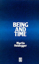 Being and Time by Martin Heidegger 9780631197706 (Paperback)