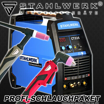 Welder Stahlwerk Ct 535 Plasma S - Welding Machine Inverter / Plasma Cutter 55A