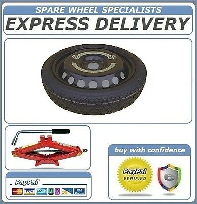"Vauxhall Zafira B (2005-2014) 16"" Space Saver Spare Wheel + Tool Kit"