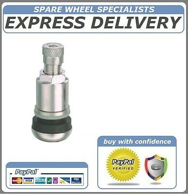 Fiat Ducato Motorhome 4 X High Pressure Tyre Valve Bolt On (4 Valves Set)