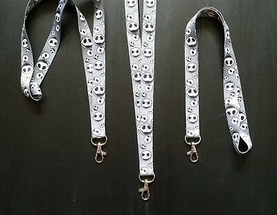 Nightmare Before Christmas-Lanyard Neck Strap, Id Tag/Swipe Holder FREE POST UK.