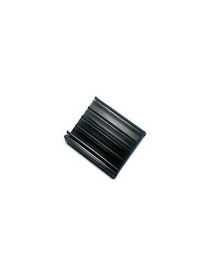 10 Pack - Black Pull Tabs for Window Screens - Hard PVC