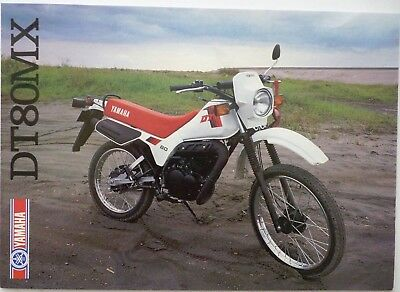 Yamaha DT80MX Sales Brochure  -  1983