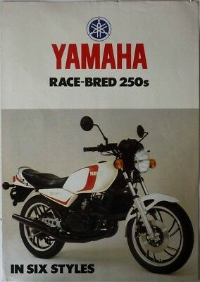 Yamaha Race-Bred 250s in Six Styles - circa 1980