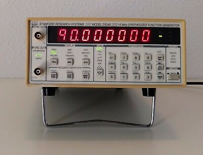 Stanford Research System Model DS340 15Mhz Synthesized Function Generator