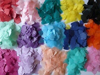 2000+ MANY COLOURS, Wedding, Party, Bio Tissue, Birthday Throwing Confetti