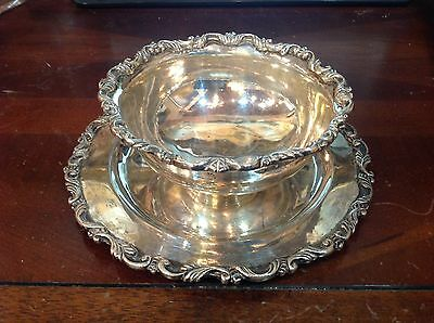 Sanborns Mexico Sterling Bowl With Underplate
