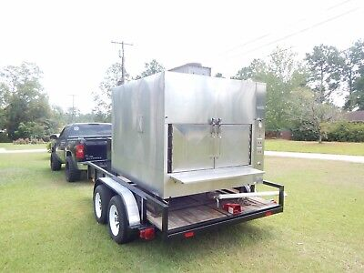 Ole Hickory Commercial Smoker  .. clean,works great!