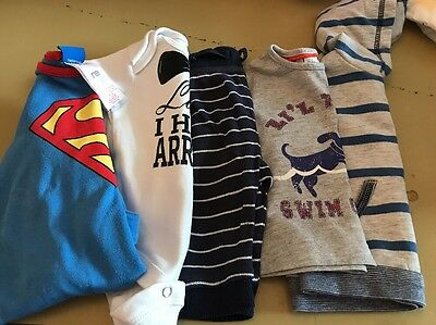 Superman Baby grow Trousers And Ladies I Have Arrived Vest 0-3 Months