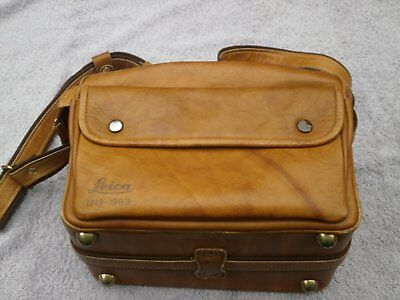 """Leica outfit bag for Leica M """"1913-1983"""" leather"""
