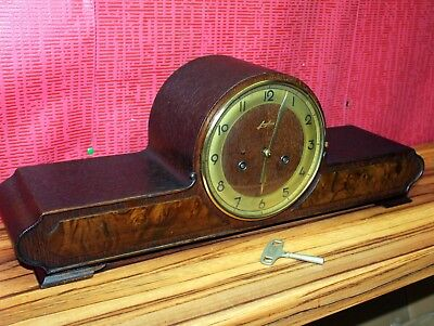 Antique Mantel Clock Chime German  Clock **JUNGHANS*