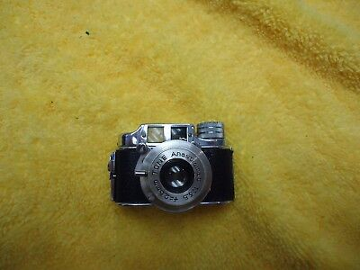 Vintage TONE Subminiature Camera w/Case  - Occupied Japan - LOOK