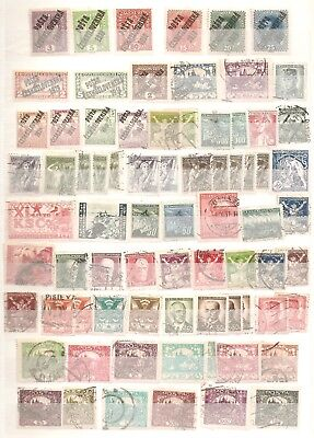 Czechoslovakia Postage Stamp Stockbook Collection - 650 stamps