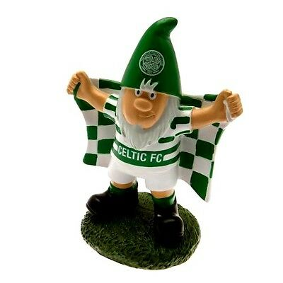 Celtic FC Official Garden Ornament Gnome With Flag Present Gift