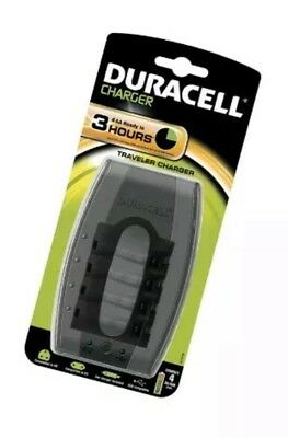 Duracell CEF23 Traveller Battery Charger with USB Outlet/ Car Adapter