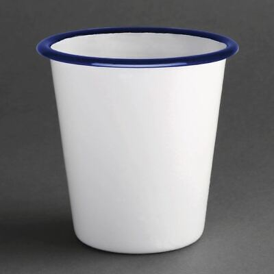 Olympia Enamel Tumbler Made of Steel Heat and Chemical Resistant 310ml Pack of 6
