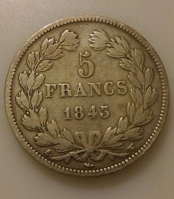 5frs Louis Philippe