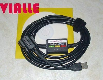 VIALLE LPi, LPdi, LPfi / LPG GPL Diagnose Kabel USB INTERFACE ADAPTER + Software
