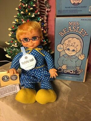 Mattel Mrs Beasley. An Original 1967' talker. Clean & Talks