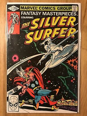 Marvel Comics: Fantasy Masterpieces starring the Silver Surfer #4 – VF Mar 1980