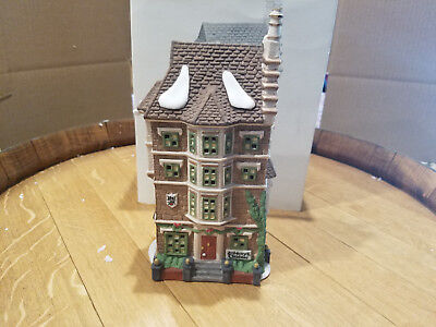Department 56 - Dickens Village - Nephew Fred's Flat  - Building -1991