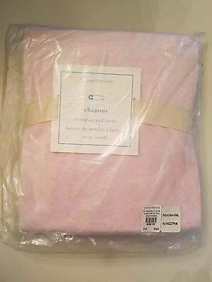NEW Pottery Barn Chamois Changing Pad Cover (Pink)