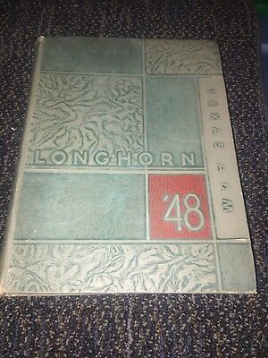 1948 Texas A&M University College Yearbook Annual  Longhorn   -Ref. 6-314