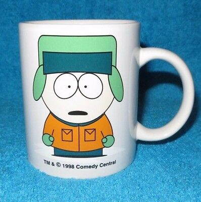 1998 Unused South Park - Kyle Mug Vgc