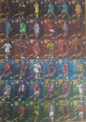 Panini Adrenalyn XL FIFA 365 2018 Power Up 406-441 Trading Cards zum aussuchen