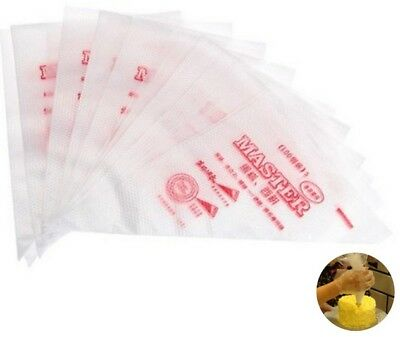 30x28x17cm Master Plastic Disposable Icing Piping Cake Pastry Bags UK 1|5|10|25