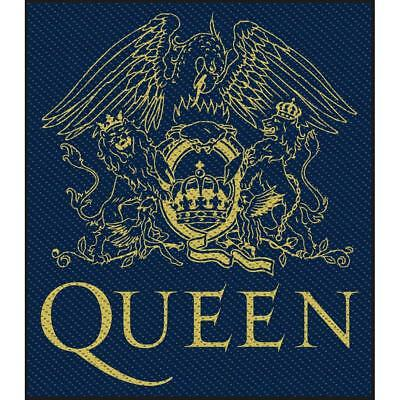 Official Licensed - Queen - Crest Sew-On Patch Rock Freddie Mercury