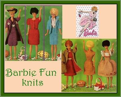 Knitting/crochet pattern for Barbie/Sindy