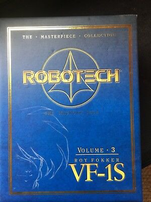 Robotech Masterpiece Collection Vol 3 Roy Fokker VF 1S Anime Toynami