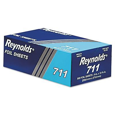 "Reynolds - 711 - Metal Foil Wrap Sheet, 9"" x 10 3/4"" - REY711 500 PCS"