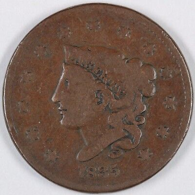 1835 N-7 Head of 1836 Matron or Coronet Head Large Cent 1C