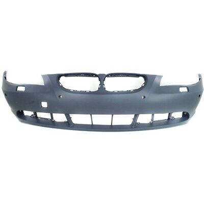 Front Bumper Cover For 2001-2003 BMW 540i w// Molding Holes Primed