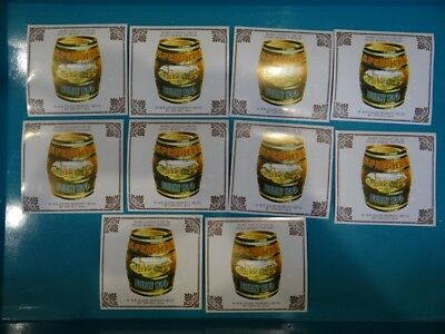 10 X Speights Brew 100 New Zealand Beer Labels - Cr15