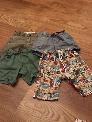 Boys Size 4 Shorts.  Seed 4-5, Cotton On And Target
