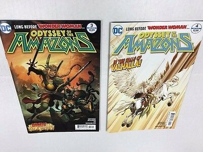 DC Odyssey of the Amazons # 3 to # 6 NM+  Six (4) Great Comics!