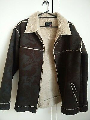 Men's Quiksilver sherpa jacket size XL
