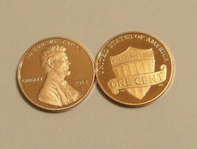 2013 Gem Proof Lincoln Shield Cent Deep Cameo Penny