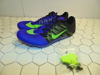 4bffabf154433 NIKE ZOOM JA FLY 2 TRACK AND FIELD SHOES 705373-035 Purple Black NEW ...
