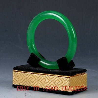 100% Natural Jade Handwork Carved Bracelet YZ14