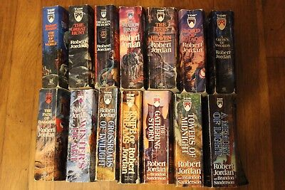 The Wheel of Time by Robert Jordan - Complete Series in Paperback