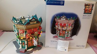 Department 56 Original Snow Village The Sweet Shop Platform House With Box